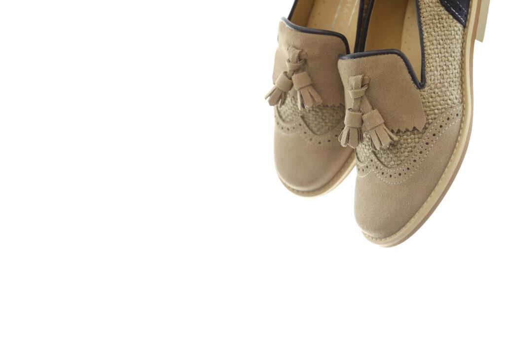 zapato de ante